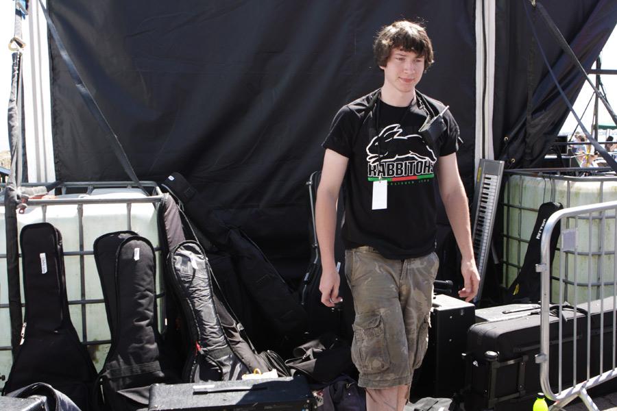 Joe with Equipment