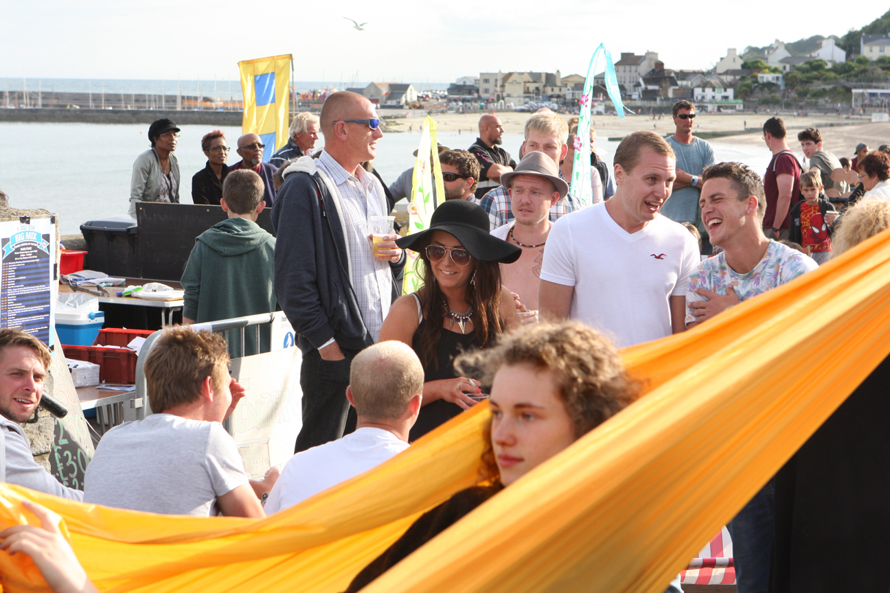 Hammocks - Big Mix Festival Lyme Regis