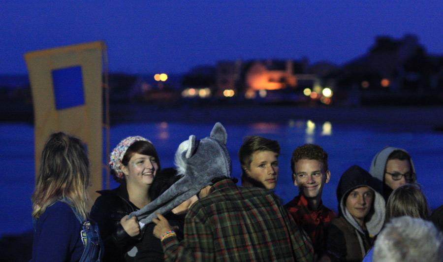 group-at-twilight