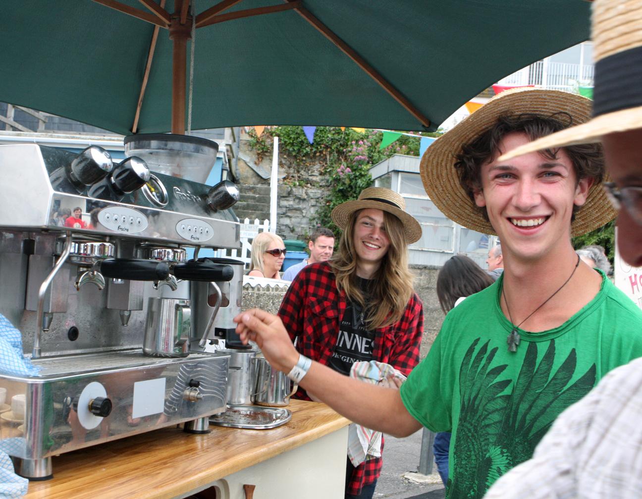 Fresh Coffee Truck - Big Mix Festival Lyme Regis
