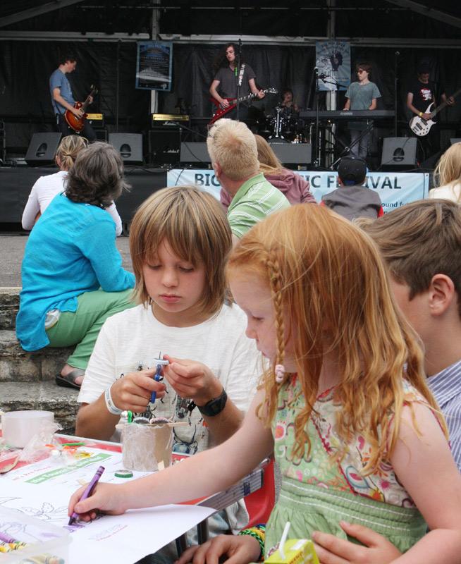 Children Playing - Big Mix Festival