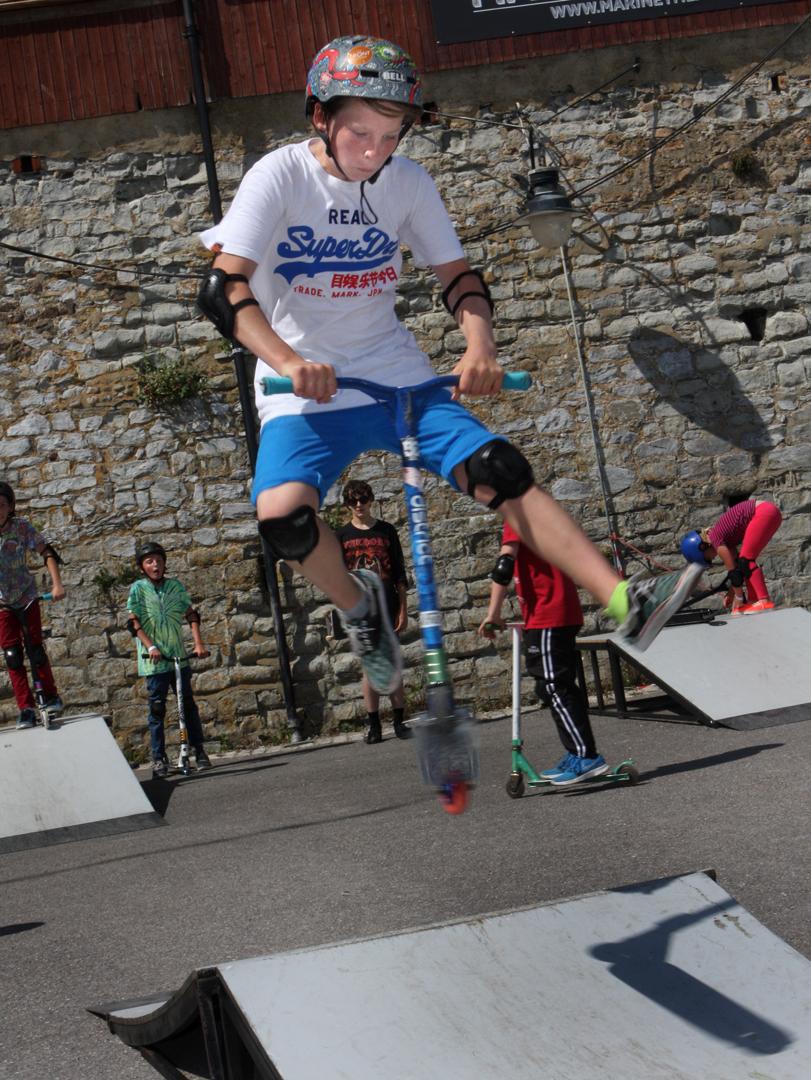 Skatepark Scooter Big Mix 2015
