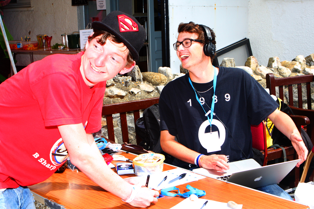 Welcome desk Big Mix 2015